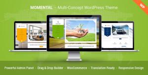 Премиум шаблон для Вордпресс - Momental - Multi Concept WordPress Theme