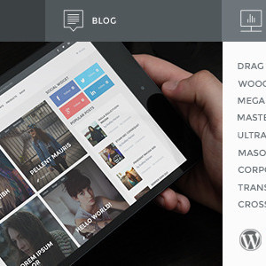 Премиум шаблон для Вордпресс - REPRINT | Magazine MultiPurpose WordPress Theme