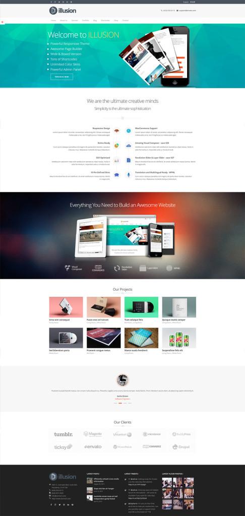 Illusion — Premium Multi-Purpose WordPress Theme