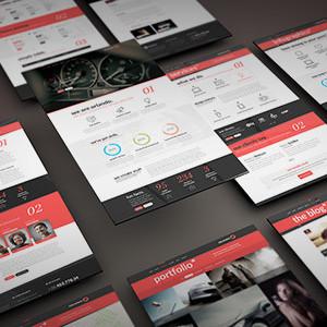Премиум шаблон для Вордпресс - Orlando - Creative Infographics WordPress Theme