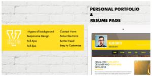 V-king - WordPress vCard & Resume Theme